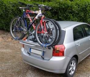 Bagażnik  rowerowy na tylną klapę MENABO  Logic 3