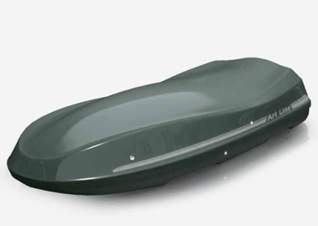 Bagażnik samochodowy Moby Dick XLXL szary JOST